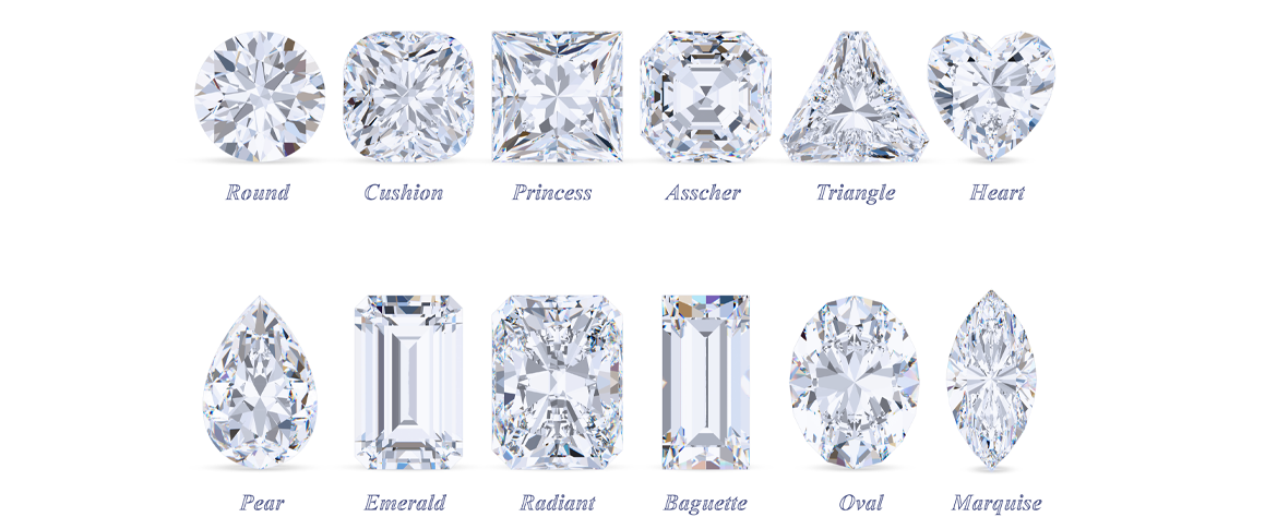 Learn about the 4 C's of diamonds